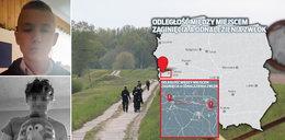 Śmierć po tajemniczym zaginięciu chłopców z Ledna. Mapa tragicznego szlaku. Skąd ta wielka odległość?