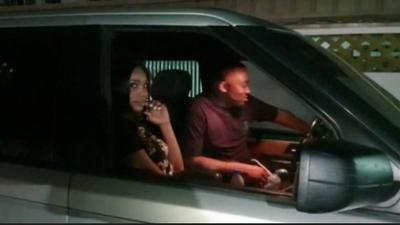 Ice Prince and Sharon Ooja spotted out for dinner!