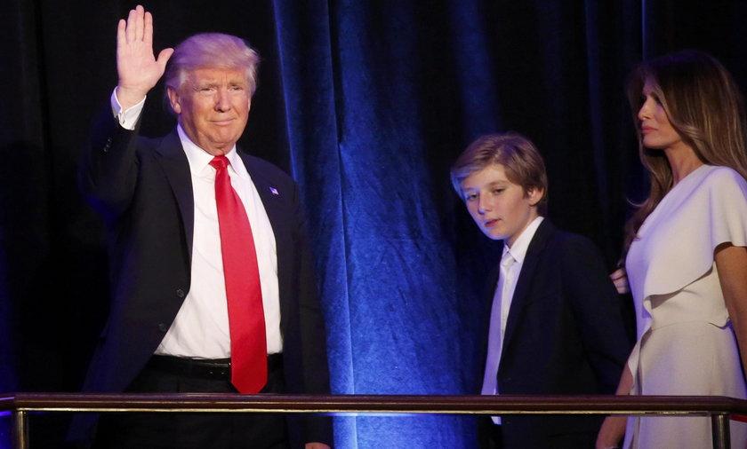 Pierwsza dama i prezydencki syn nie przeniosą się do Białego Domu