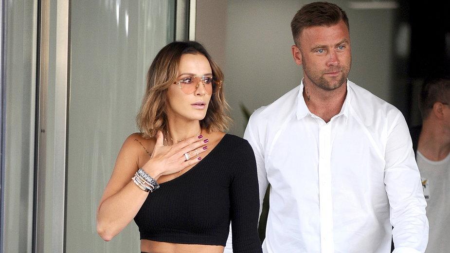 Sara Boruc-Mannei i Artur Boruc