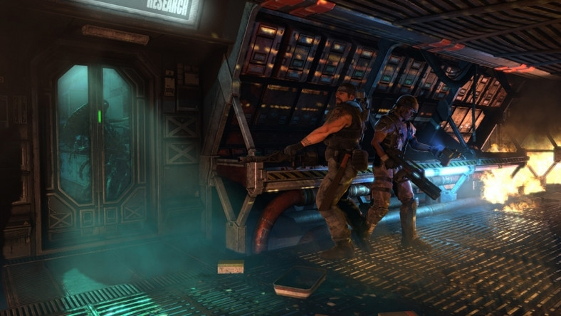 """Aliens: Colonial Marines"""