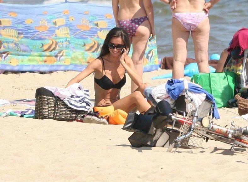Marta Kaczyńska w bikini