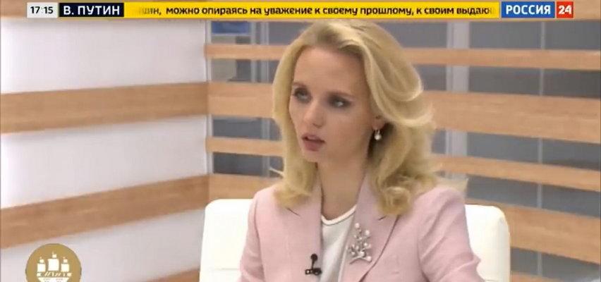 Sensacja w Rosji. Domniemana córka Putina wystąpiła w telewizji