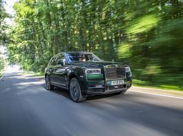 Rolls-Royce Cullinan - najdroższy SUV świata