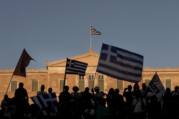 Referendum w Grecji, EPA/YANNIS KOLESIDIS Dostawca: PAP/EPA.