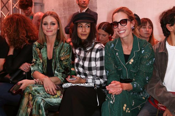 Za Oliviju Palermo čuvenu modnu blogerku rezervisan je prvi red