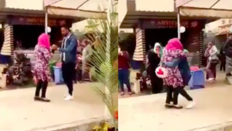 Female student expelled for hugging boyfriend who proposed to her