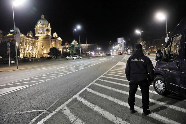 Policijski čas u Beogradu