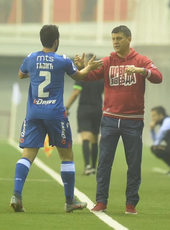 Vladan Milojević na utakmici protiv Voždovca