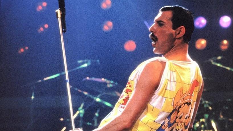 Freddie Mercury, były wokalista zespołu Queen
