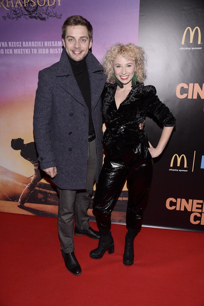 Dawid Czupryński i Katarzyna Ptasińska