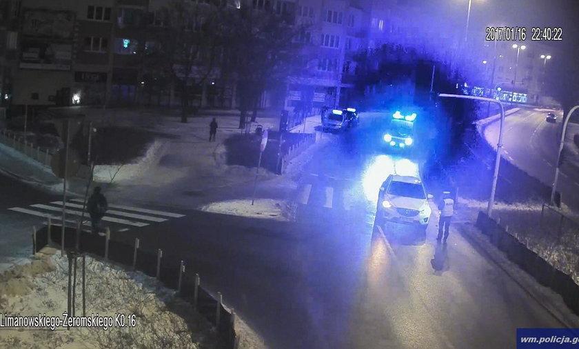 Wypadek w Olsztynie