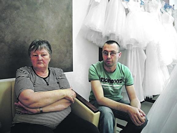 Naše venčanice odvezao je kamion gradske čistoće: Vidosava i Miloš Stamenić
