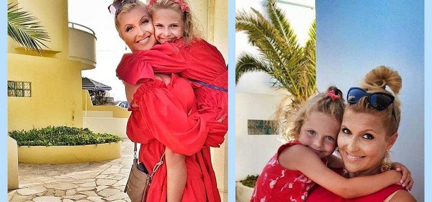 Katarzyna Skrzynecka z córką w identycznych kreacjach. Podobne?