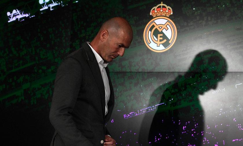 Zinedine Zidane schodzi ze sceny. Ogłosił, że nie będzie już trenerem Realu Madryt