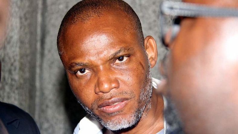 Nnamdi Kanu is being tried by the federal government for treason (Sahara Reporters)