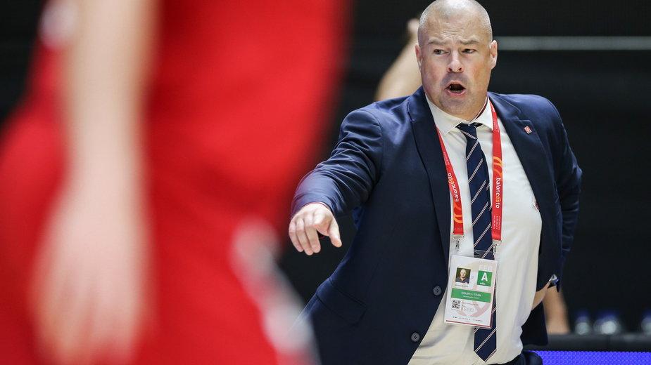 Mike Taylor - trener reprezentacji Polski w koszykówce