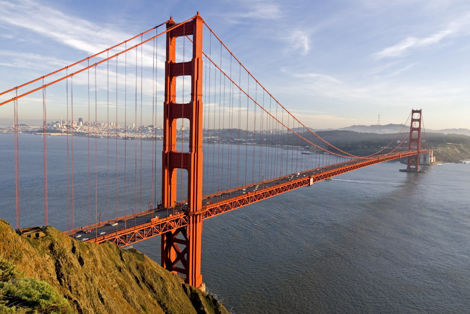 10. Most Golden Gate, USA