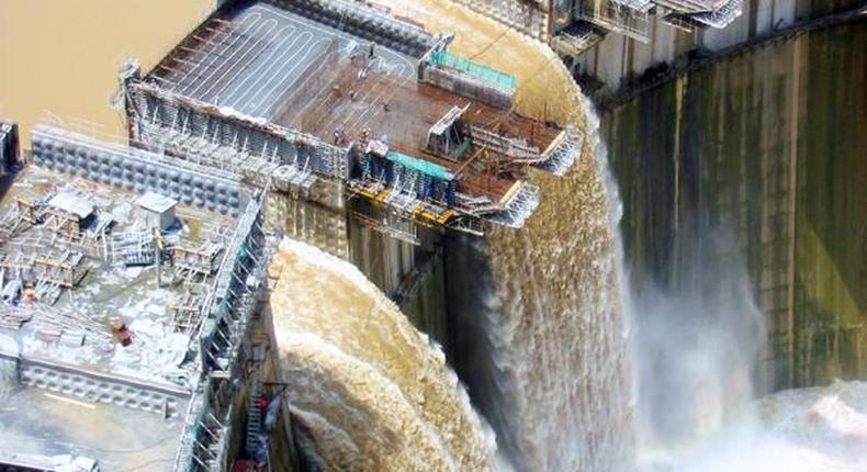 Ethiopia's Grand Renaissance Dam.