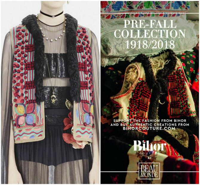 Levo, model koji potpisuje Dior i desno, model koji potpisuje Bihor