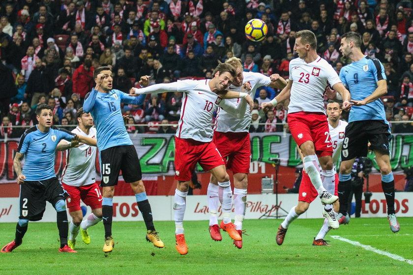 Polska - Urugwaj , pilka nozna , mecz towarzyski , Poland - Uruguay Polish Football Friendly
