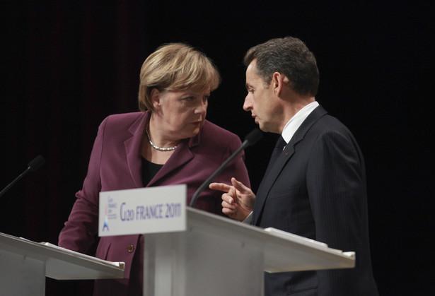 Angela Merkel i Nicolas Sarkozy