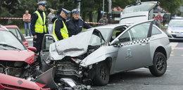 Siedem osób w szpitalu po wypadku