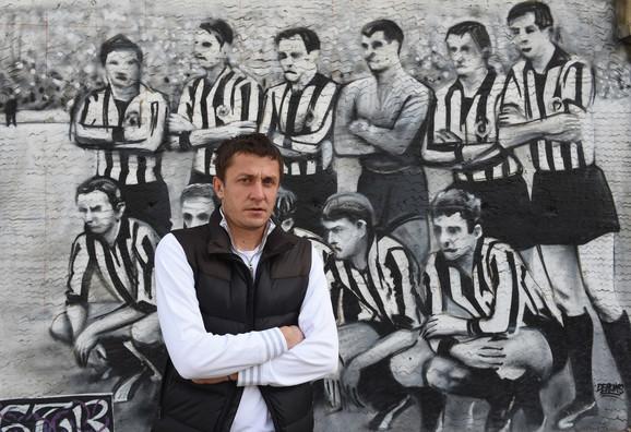 Živa legenda crno-belih: Saša Ilić