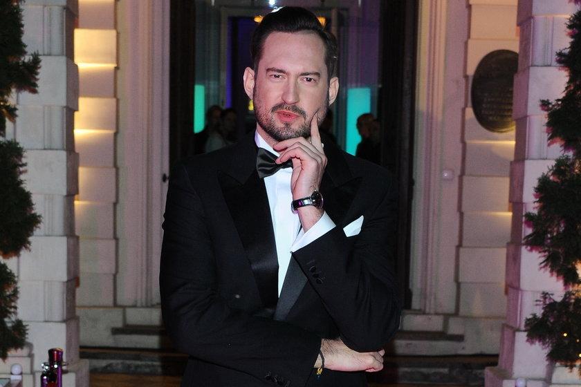 Marcin Prokop na imprezie Glamour