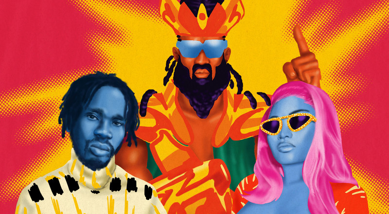 Nicki Minaj and K4mo feature on Mr. Eazi's and Major Lazer's new song, 'Oh My Gawd'
