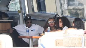 Beyonce i Jay Z wypoczywają na jachcie w Miami