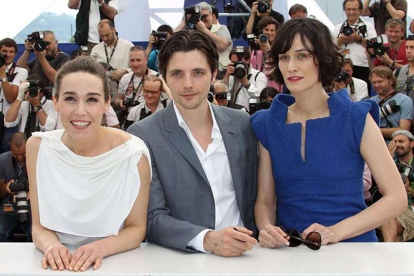 Aktorka Arta Dobroshi w Cannes