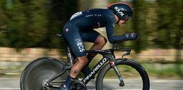 Dyskwalifikacja kolarza Richarda Carapaza. Wyrzucili go z wyścigu, bo... źle zjeżdżał z góry