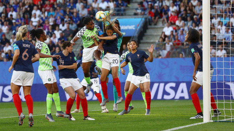 The Super Falcons offered some offensive threats early on in the game (Getty Images)