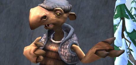 """Screen z gry """"Epoka Lodowcowa 3: Era dinozaurów"""""""