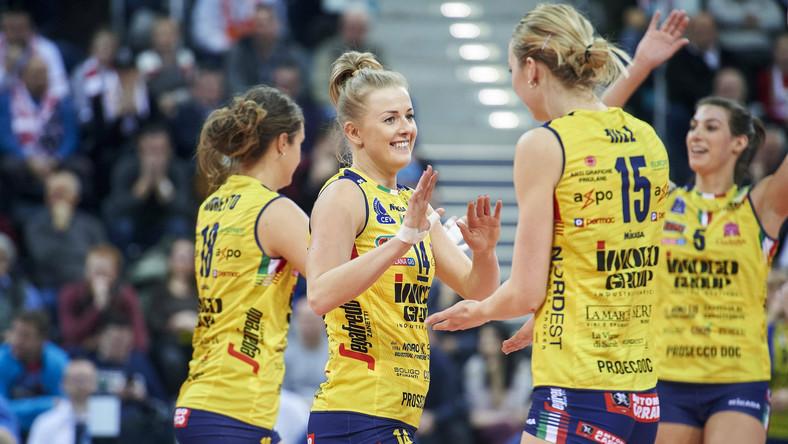 Joanna Wołosz w barwach Imoco Volley