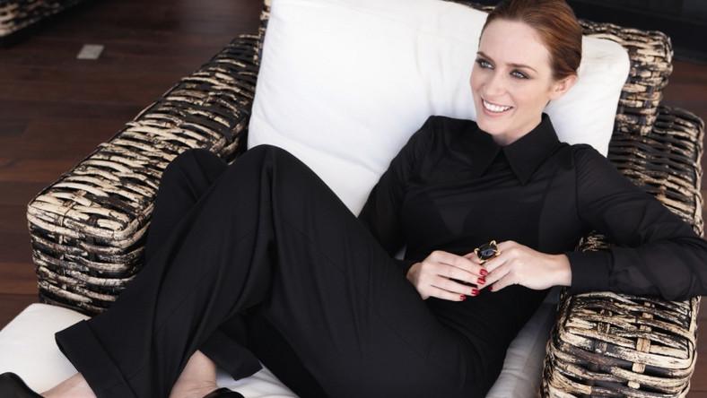Emily Blunt w reklamie perfum Opium YSL.