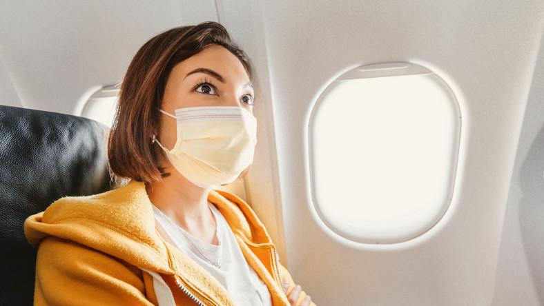 Samolot, pasażer, lot