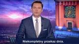 """Sparodiowali """"Wiadomości"""" TVP. Usłyszeli groźby"""