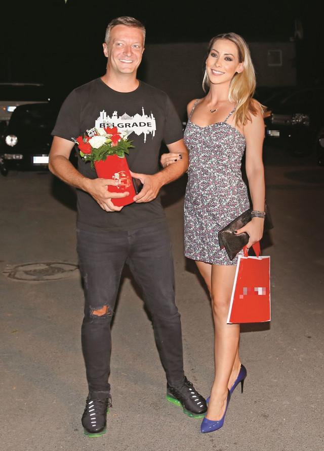 Mašan Lekić sa suprugom