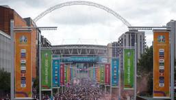 Wembley return - England Women will play again at the national stadium in October Creator: Niklas HALLE'N