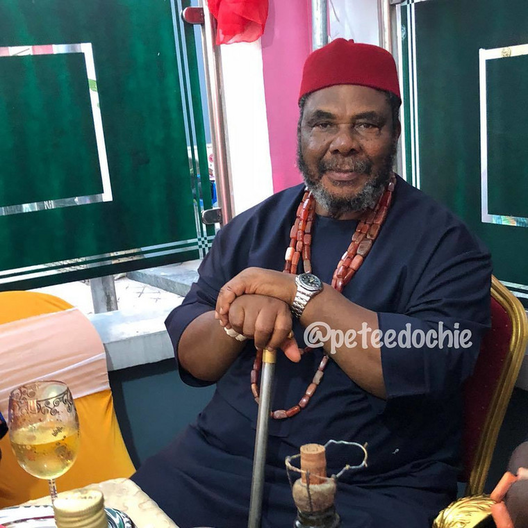 Reacting to the controversial statement in a chat with Punch, Edochie said he's indifferent to opinions expressed about him because they don't make sense to him.  [Instagram/PeteEdochie]