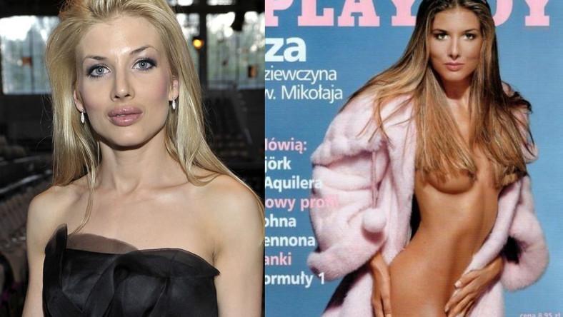 """Izabella Łukomska-Pyżalska, okładka """"Playboya"""""""