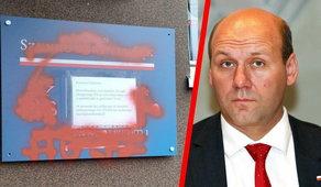 Zdewastowano biuro posła PiS. Sprawę bada policja