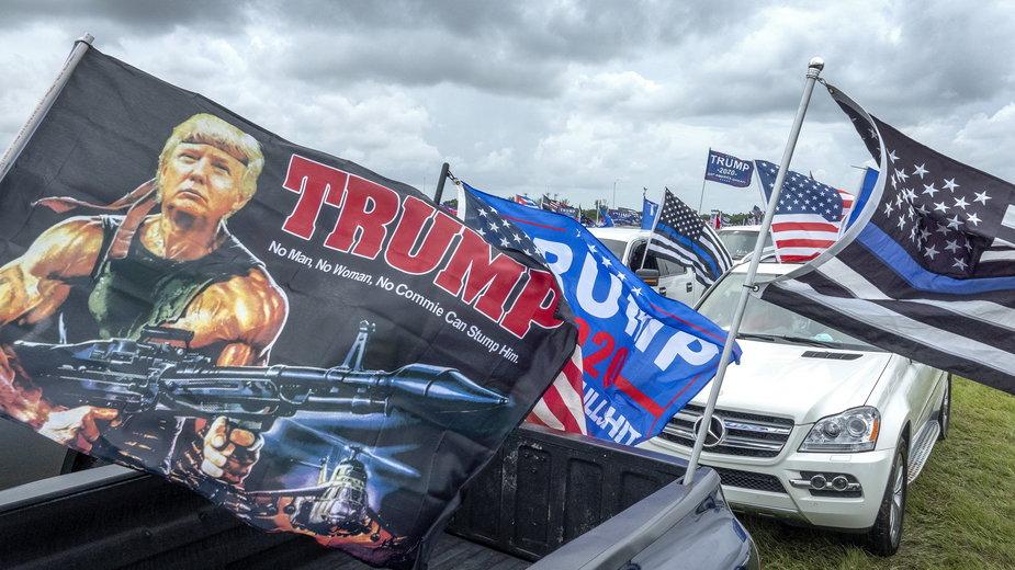 Zlot wyborców Donalda Trumpa