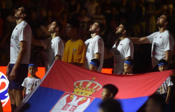 Košarkaška reprezentacija Srbije pred meč protiv Argentine