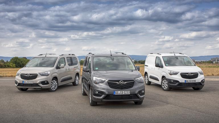 Opel Combo Cargo i Combo Life