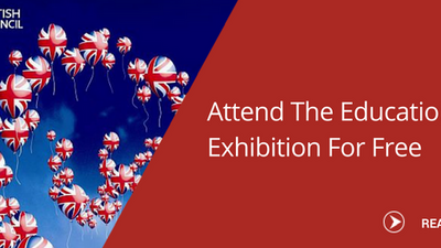Let your dreams take flight; be at the Education UK Exhibition this November!