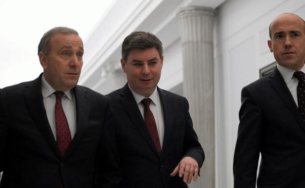 Grzegorz Schetyna, Jan Grabiec, Borys Budka