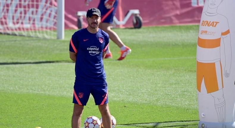 Diego Simeone says his Atletico Madrid team needs to 'evolve' Creator: JAVIER SORIANO
